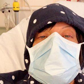 Nadia Ackerman being treated for the coronavirus