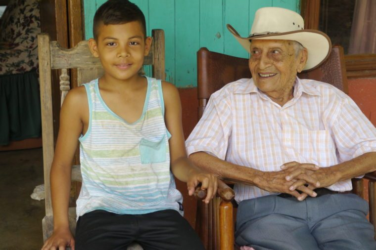 Juan-Gutierrez-Rosales Centenarians 100 years old costa rica blue zone