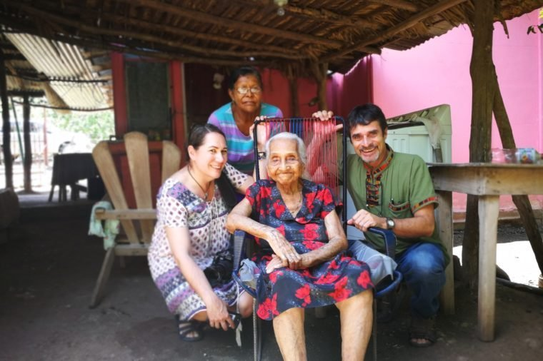 maria trinidad espinoza Centenarians 100 years old costa rica blue zone