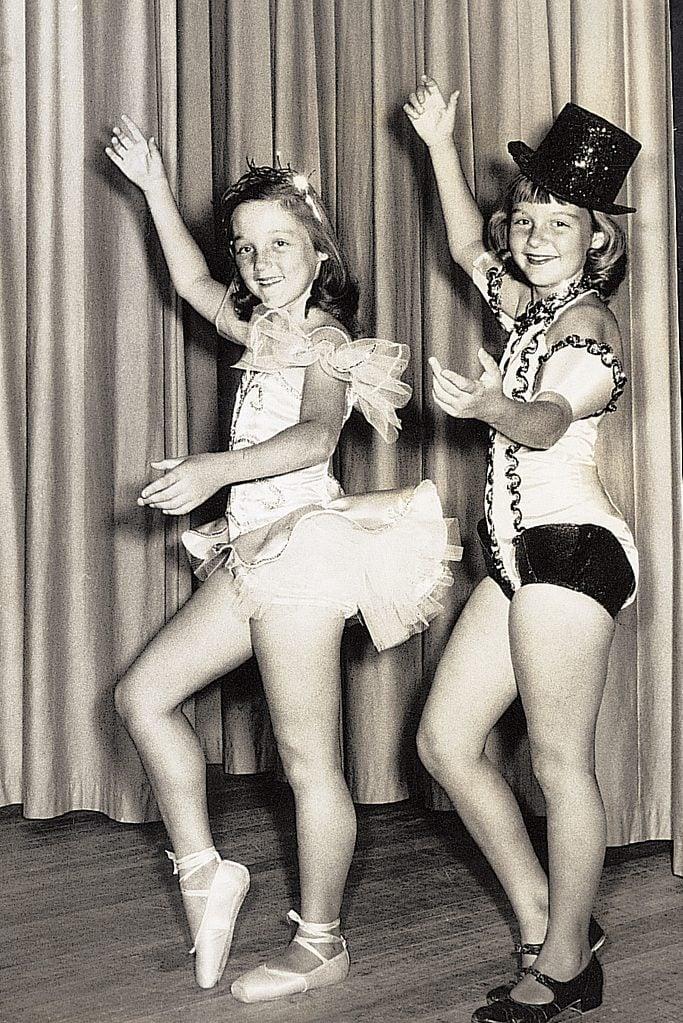 family album vintage dance photo