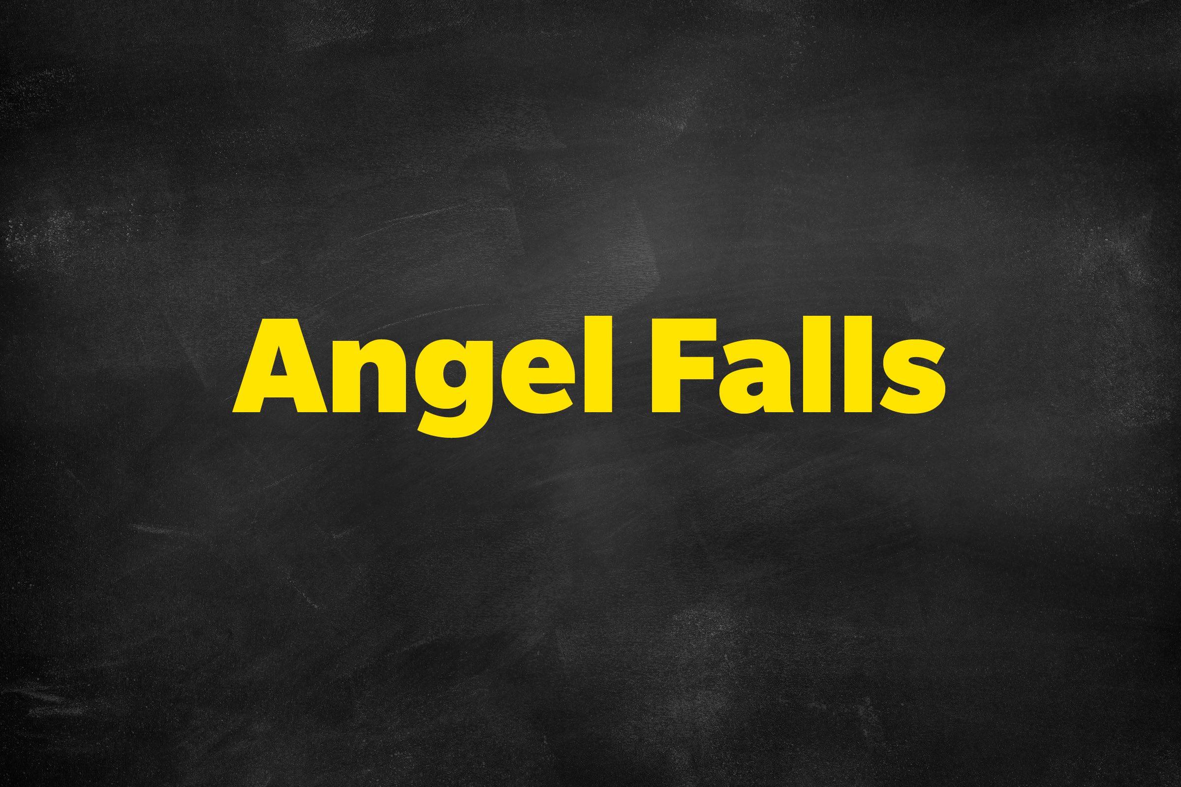 Answer: Angel Falls