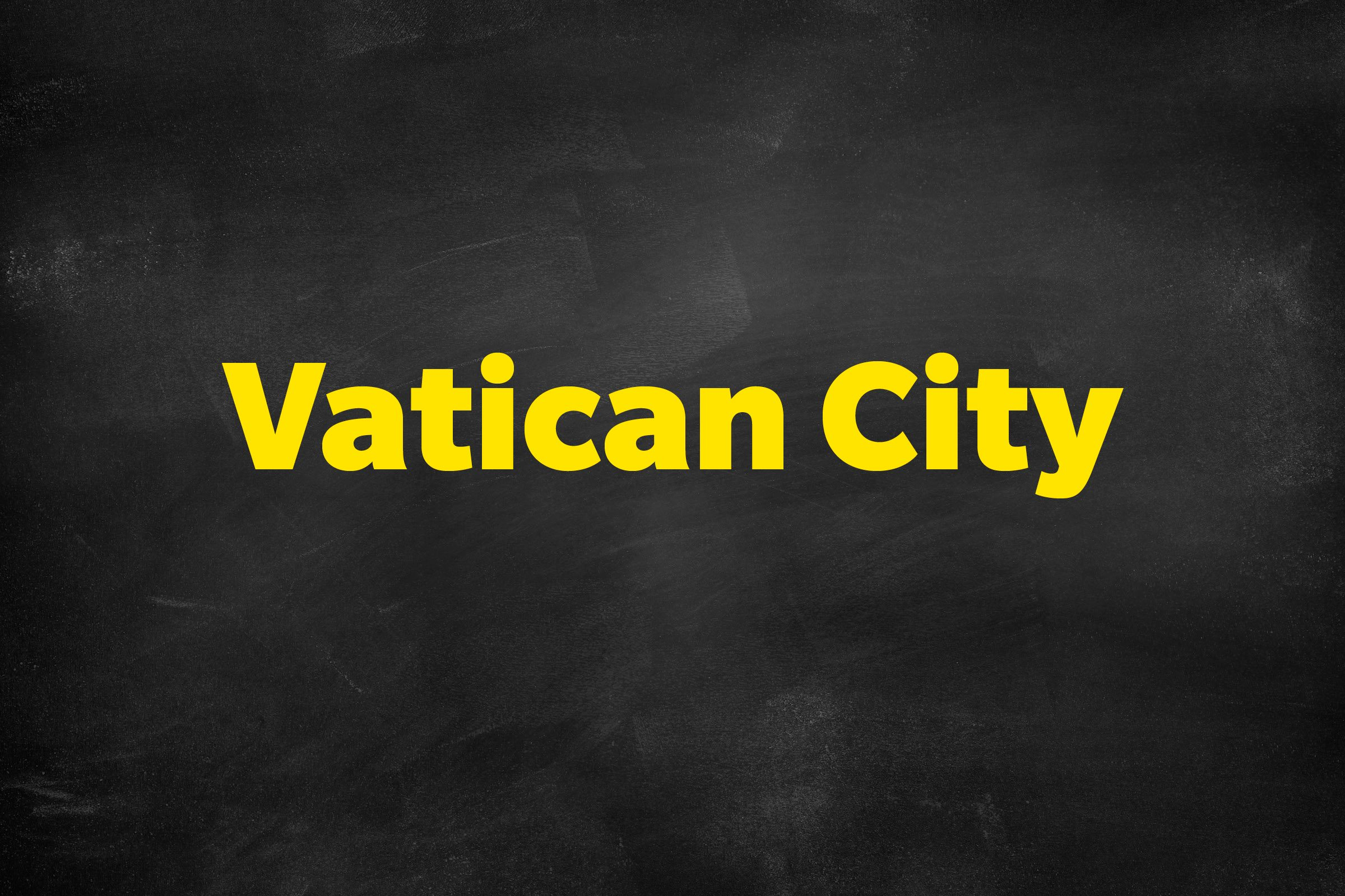 The world's smallest country is Vatican City. At just 0.44 square kilometers, the entire country fits inside the Italian capital city of Rome.