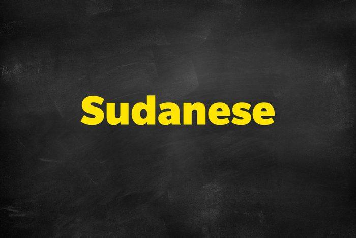 Answer: Sudanese