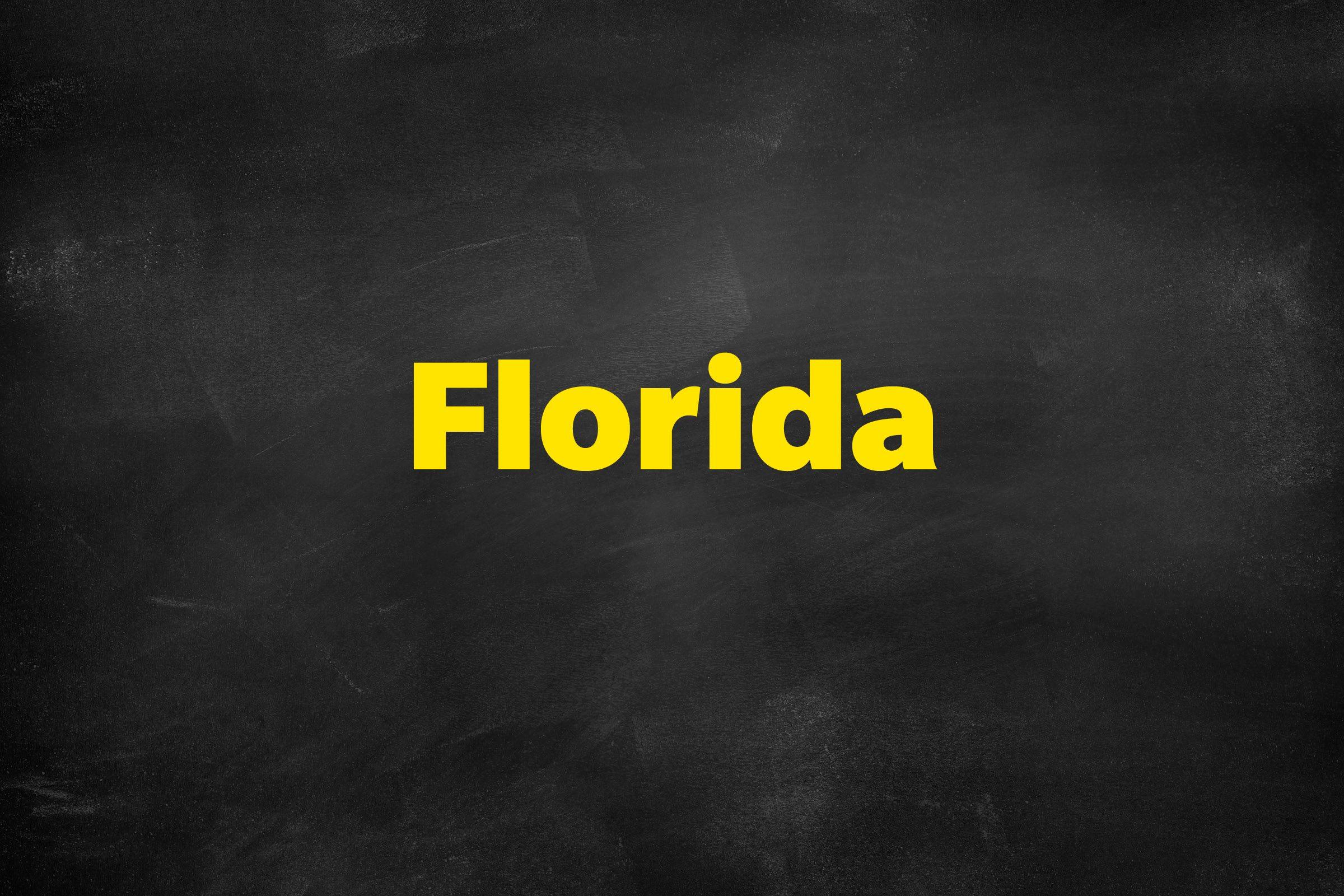 Answer: Florida