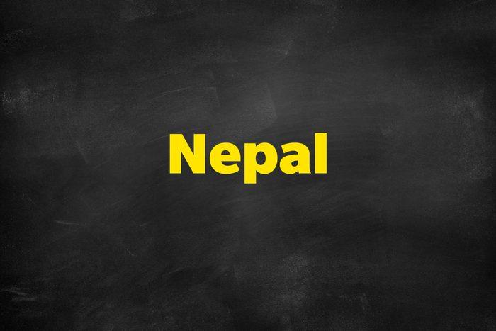 Answer: Nepal