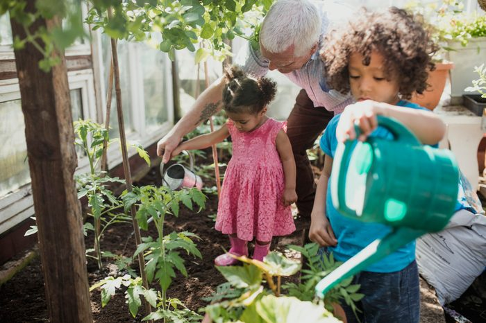Grandad is the Best Gardening Teacher