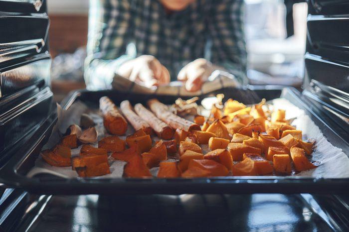 Roasting Pumpkins in the Oven