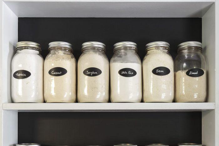 Jars in Pantry