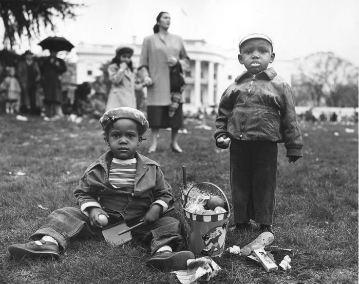 At The White House Easter Egg Roll