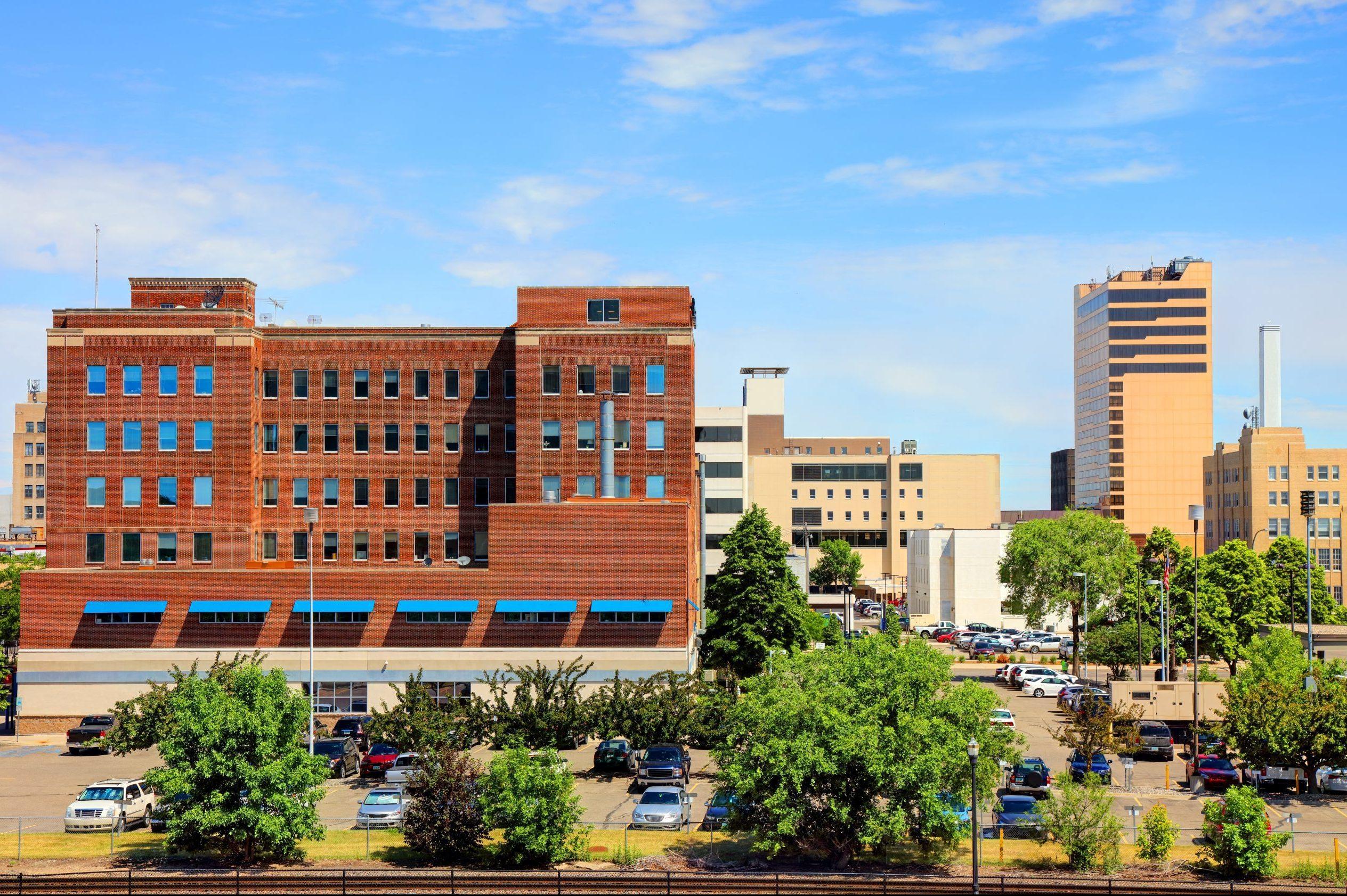 view of the city of Fargo, North Dakota
