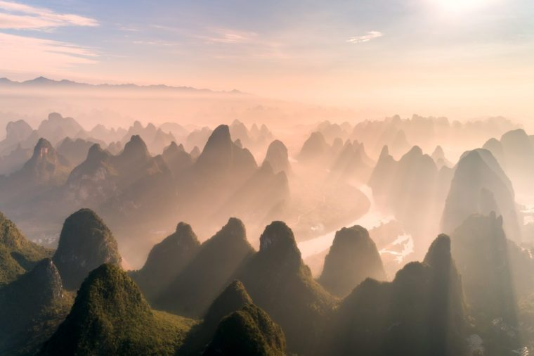 The Scenery Of Guangxi