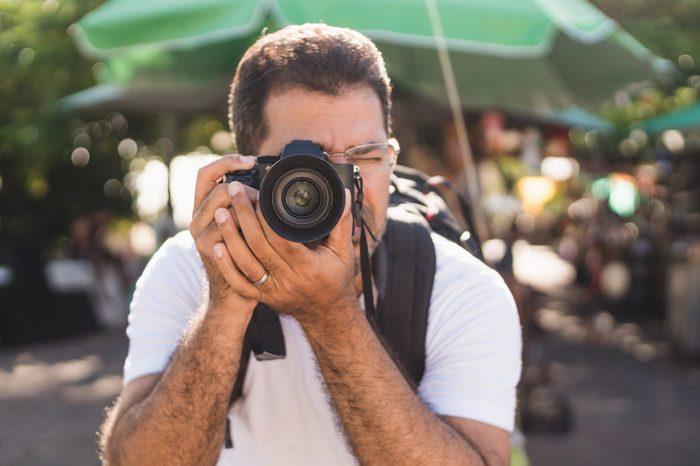 Photographer travel destination