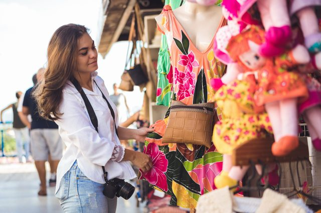 Craft and tourism fair in Brazil