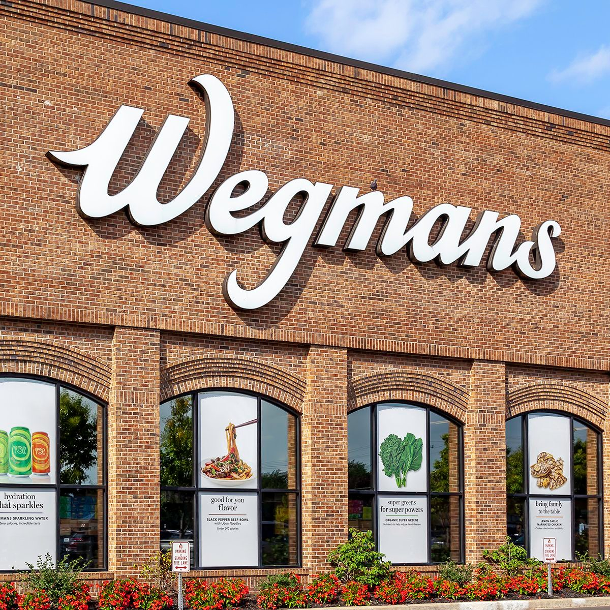 Buffalo, New York, USA - September 2, 2019: Wegmans Food Markets in Buffalo, New York, USA. Wegmans Food Markets Inc. is a privately held American supermarket chain.