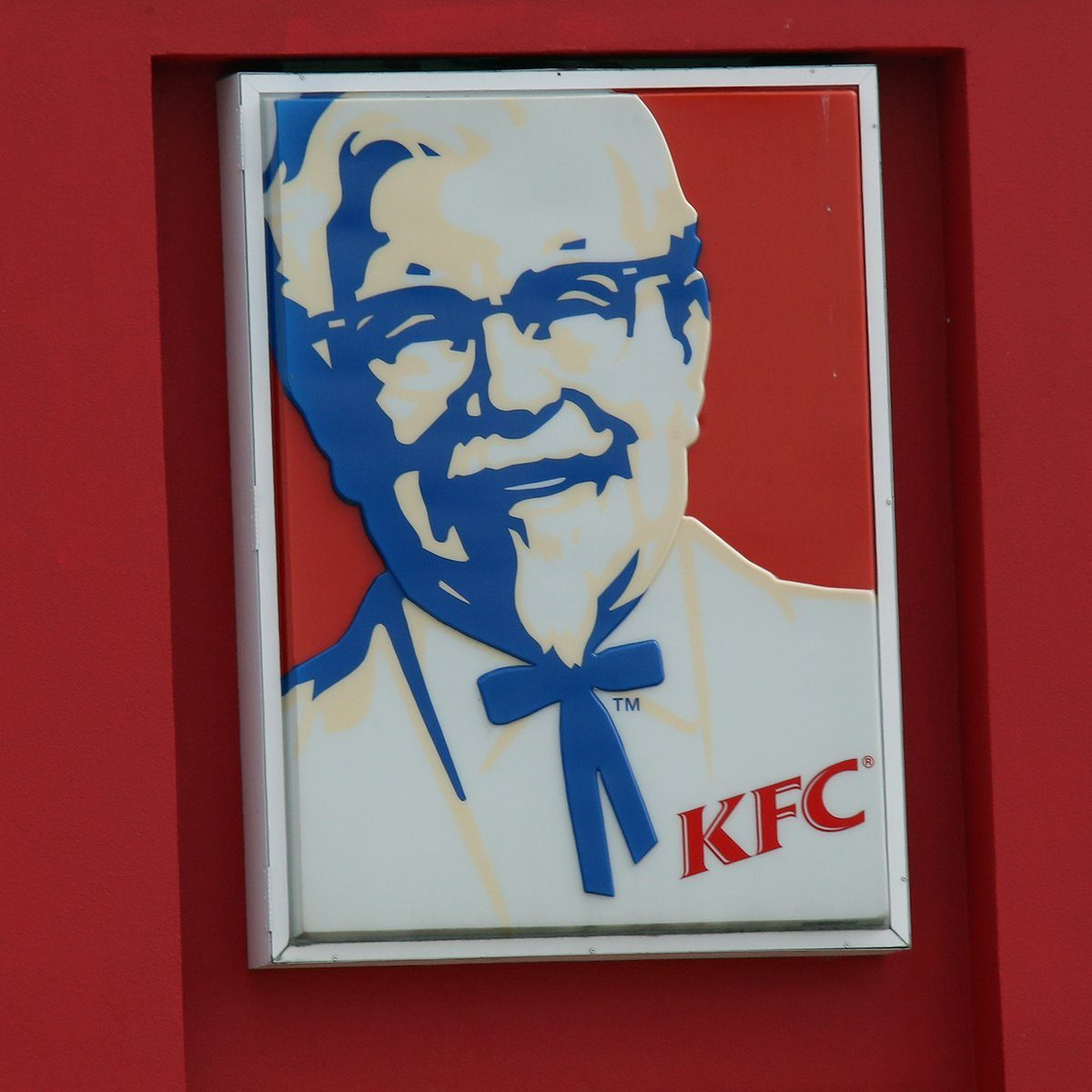 WANTAGH, NEW YORK - MARCH 16: An image of the sign for Kentucky Fried Chicken as photographed on March 16, 2020 in Wantagh, New York. (Photo by Bruce Bennett/Getty Images)