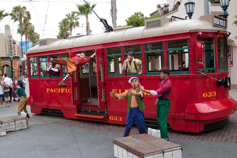 Cars Land Red Carpet Event At Disneyland Resort