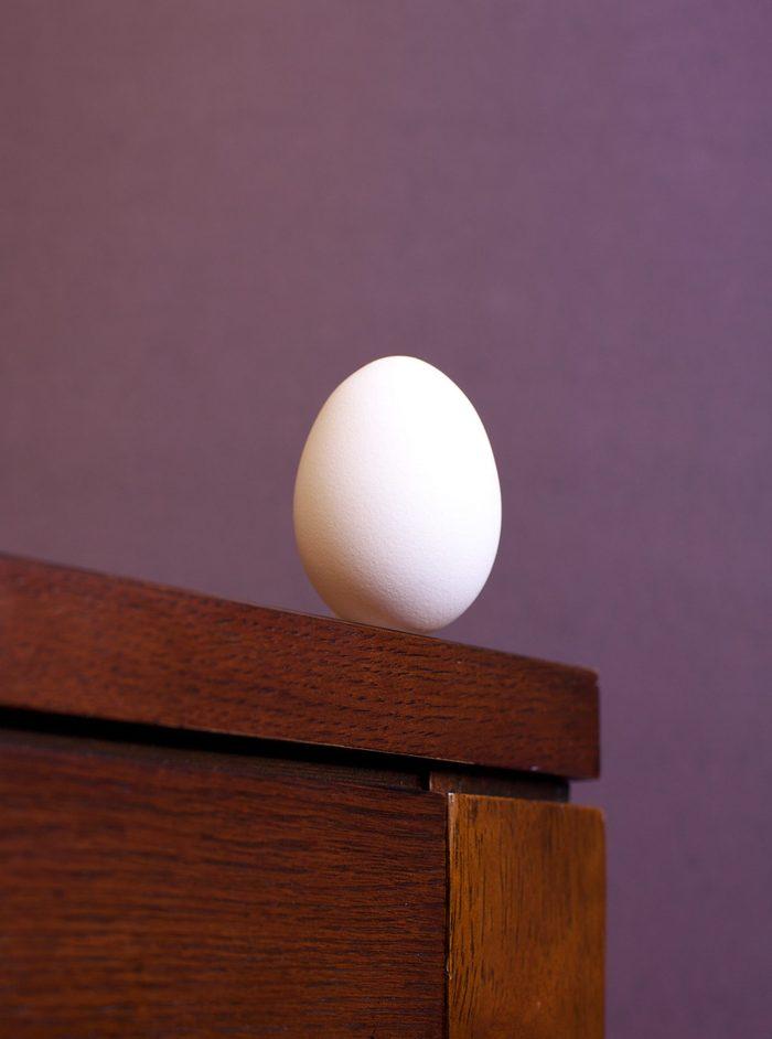 Egg on the edge
