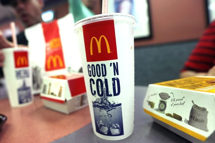 mcdonalds soft drinks one dollar