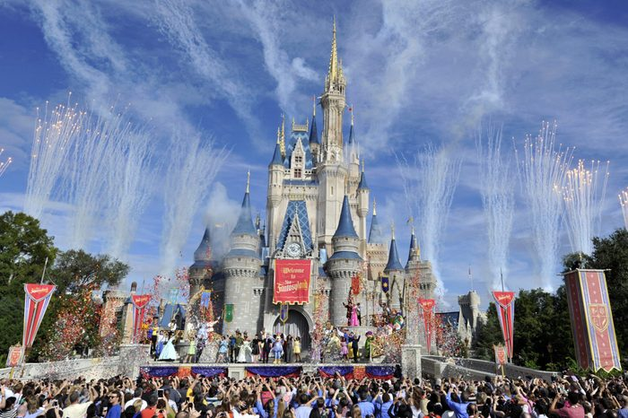 Disney world food waste