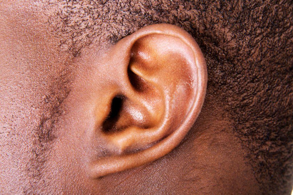 Ear close up earworm