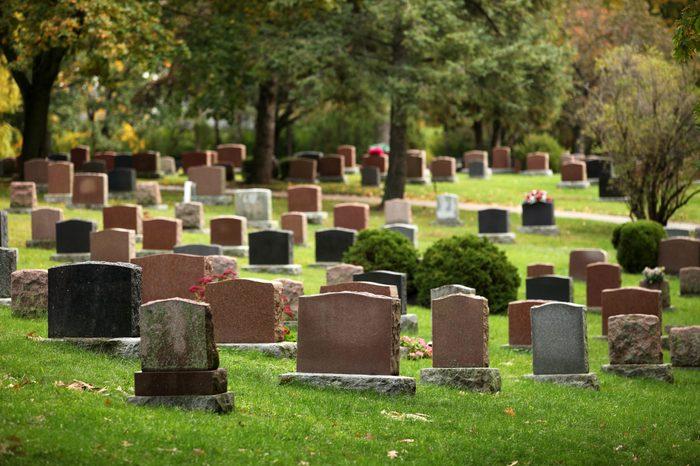 Autumnal Cemetery