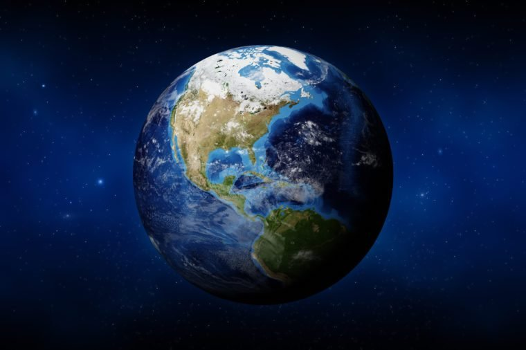 Earth (USA View)