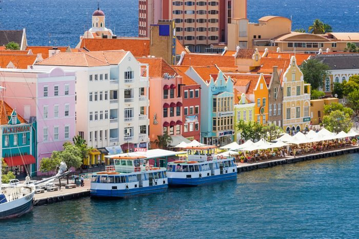 Waterfront of Willemstead, Curacao