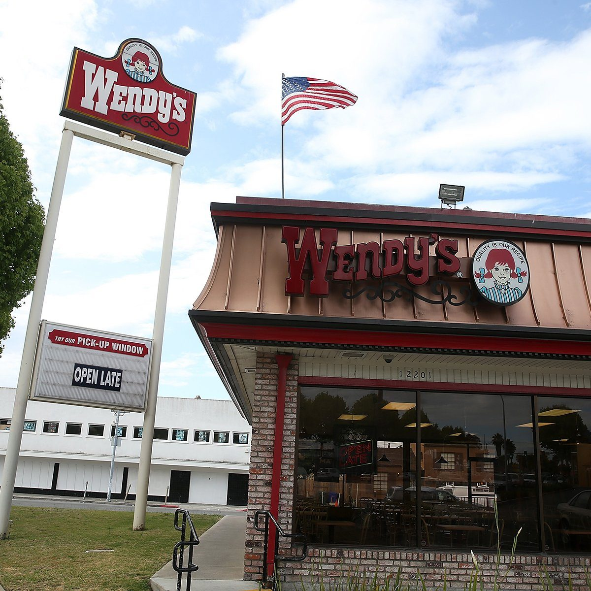 RICHMOND, CA - MAY 07: An exterior view of a Wendy's restaurant on May 7, 2015 in Richmond, California. Wendy's announced plans to sell 640 of its company owned restaurants in the U.S. and Canada. Wendy's has 6,515 restaurants worldwide. (Photo by Justin Sullivan/Getty Images)