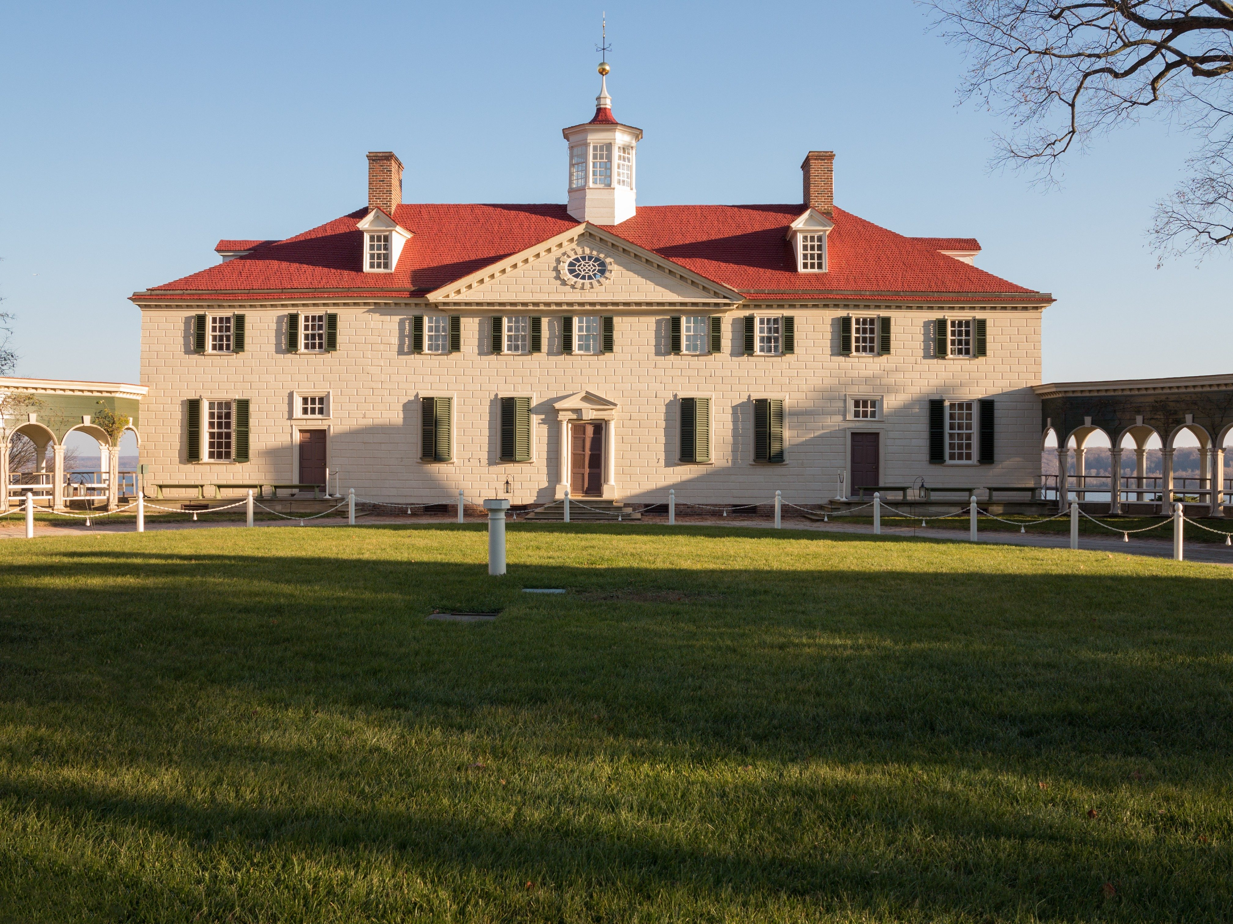 George Washington house Mount Vernon