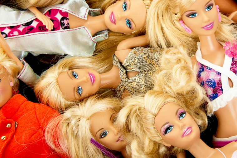 Bunch of Barbie Fashon Dolls