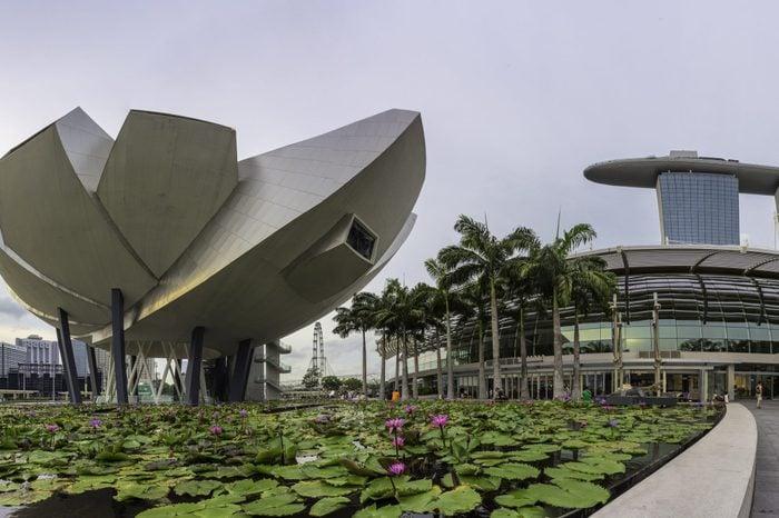 Panoramic View of Art Science Museum