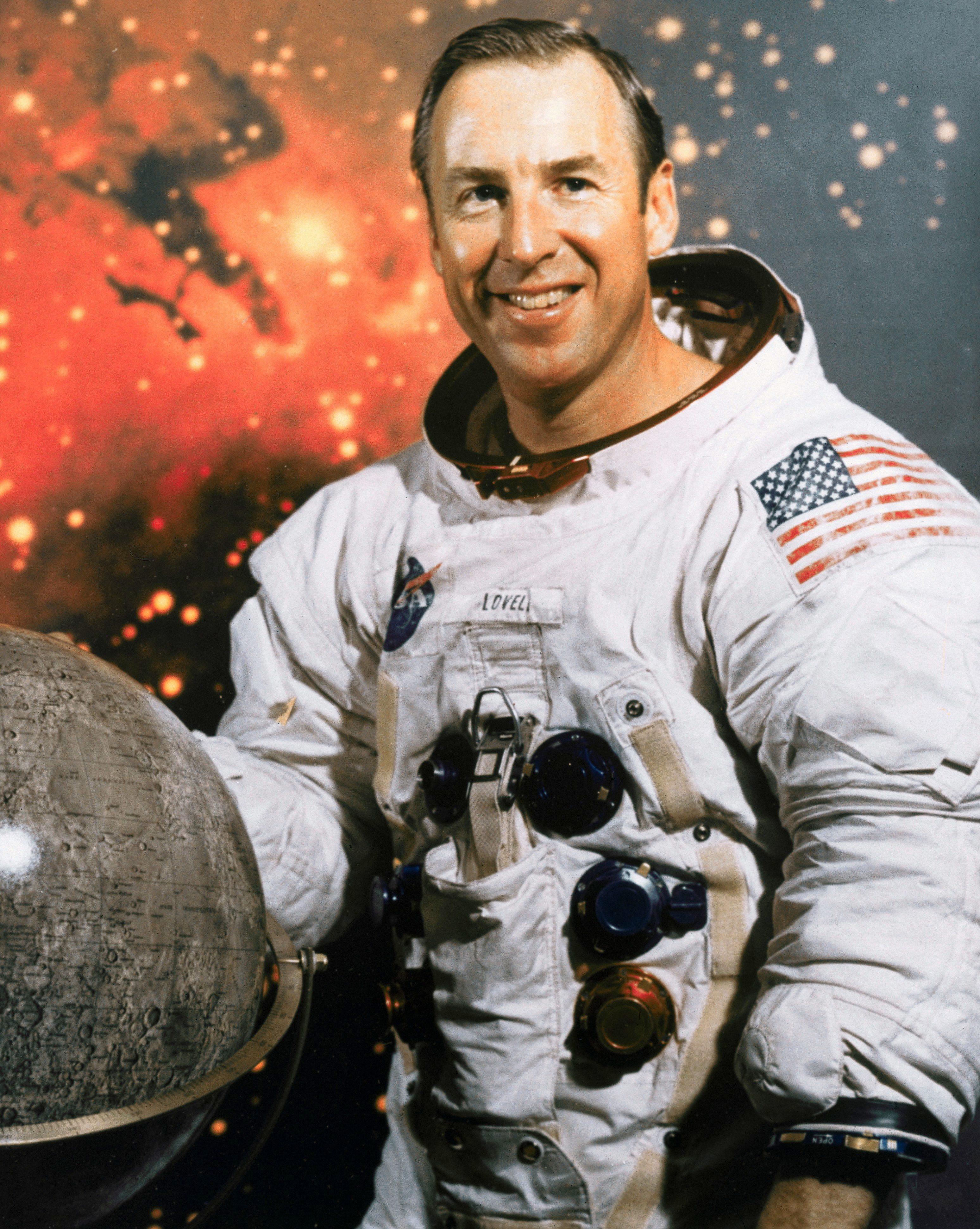 Astronaut James A. Lovell Jr. Smiling