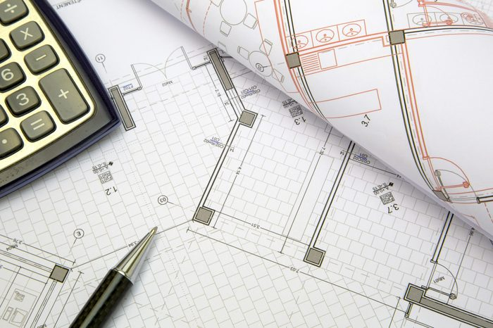 construction project concept
