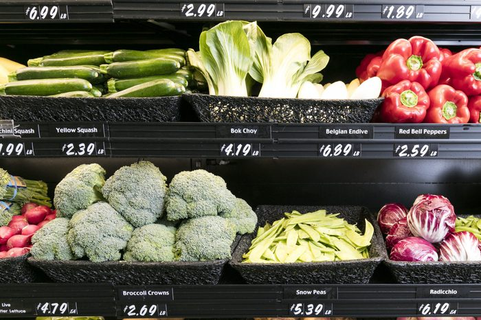 Grocery Store Produce Department