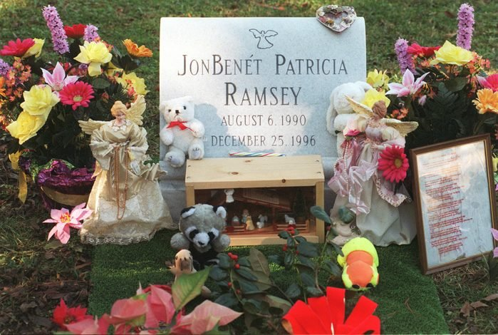 1st Anniverary of the Death of Jonbenet Ramsey