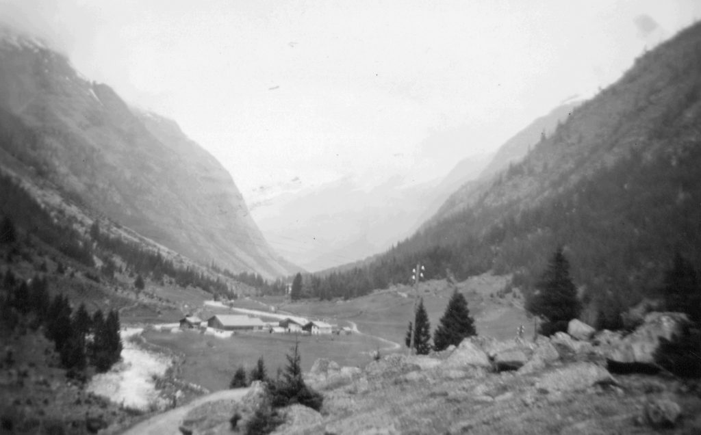 View Of A Valley