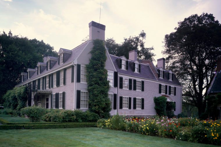 The Old House, home to two presidents: John and John Quincy Adams, Quincy, Massachusetts