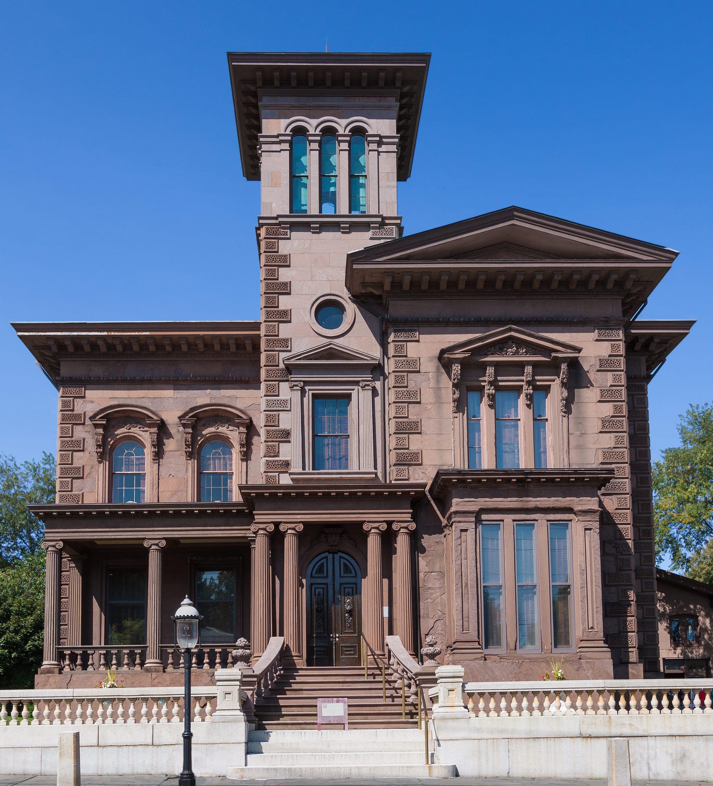 Victoria Mansion, Portland, Maine, New England, USA.