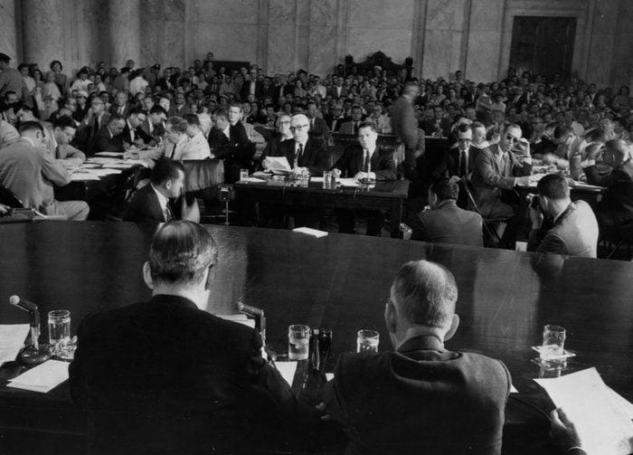 Jimmy Hoffa at Senate Hearing
