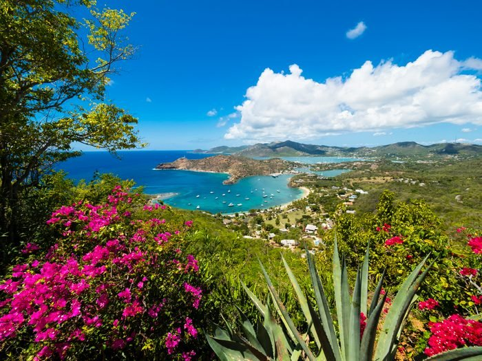 West Indies, Antigua and Barbuda, Antigua, English Harbour and Windward Bay