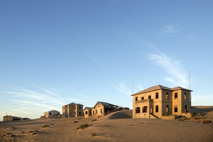 Kolmanskop Namibia diamond mining town