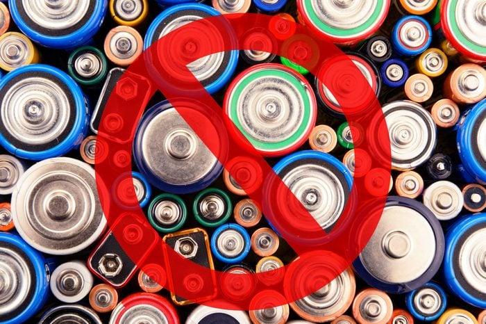 batteries garbage hazard