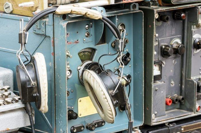 Old military radio station