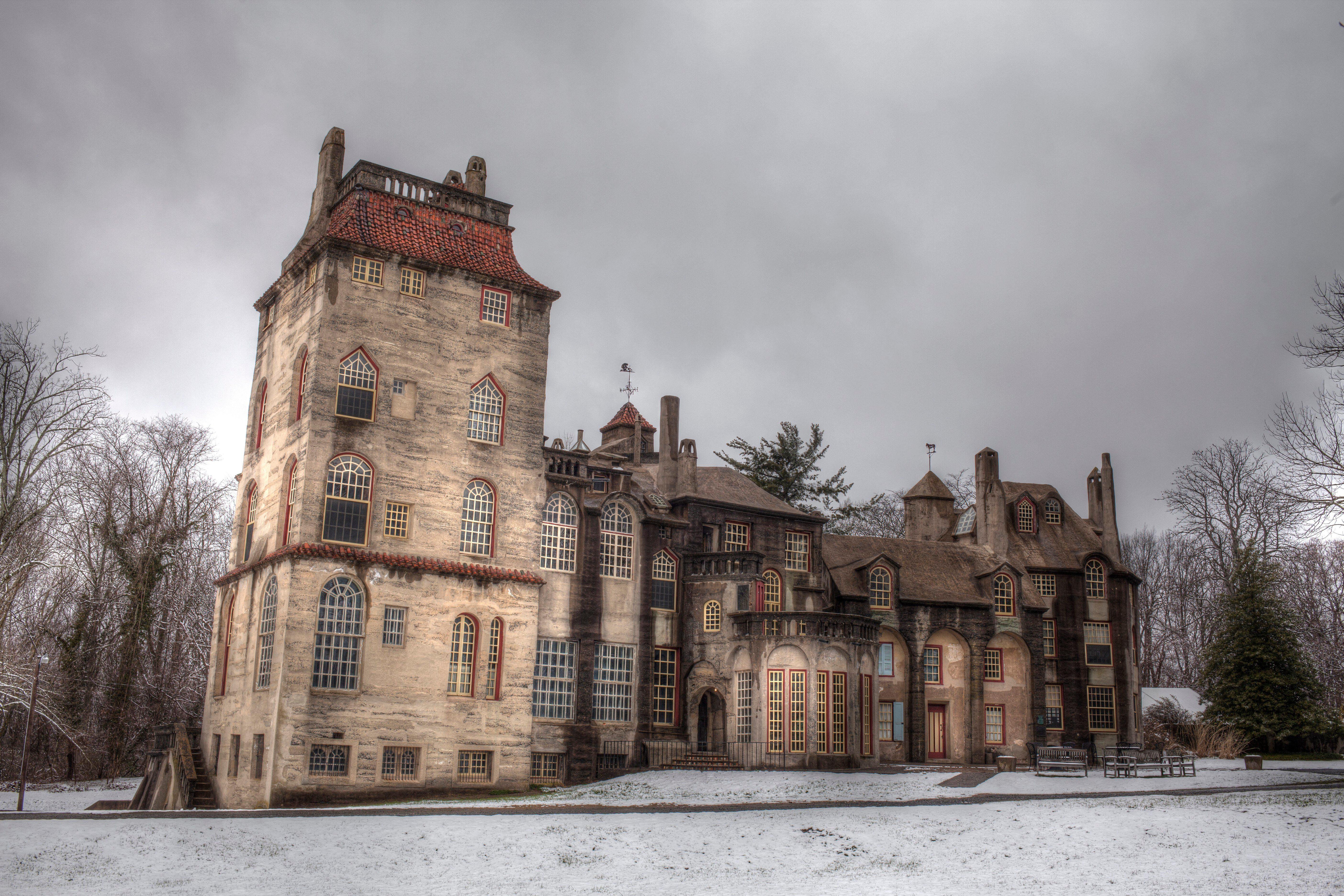 Fonthill castle in Doylestown, Pa. USA