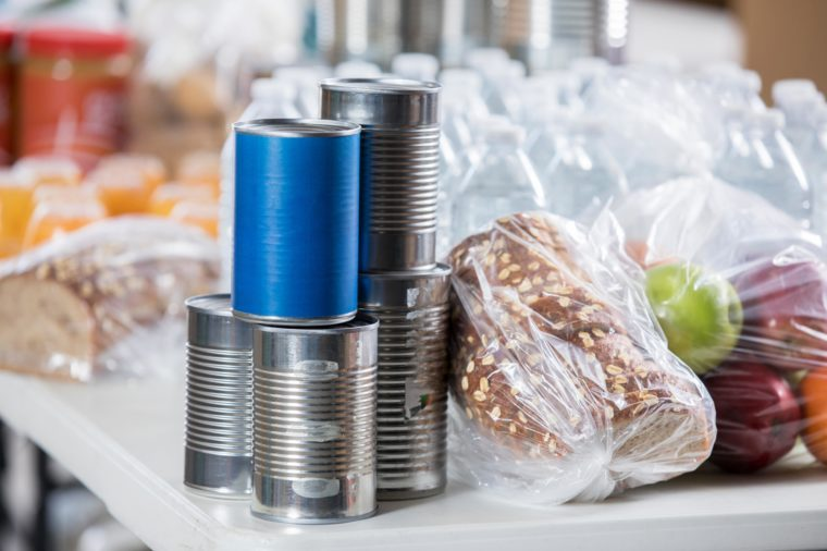food pantry donations