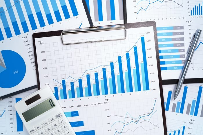 Financial reports. Analyzing and gathering statistical data.
