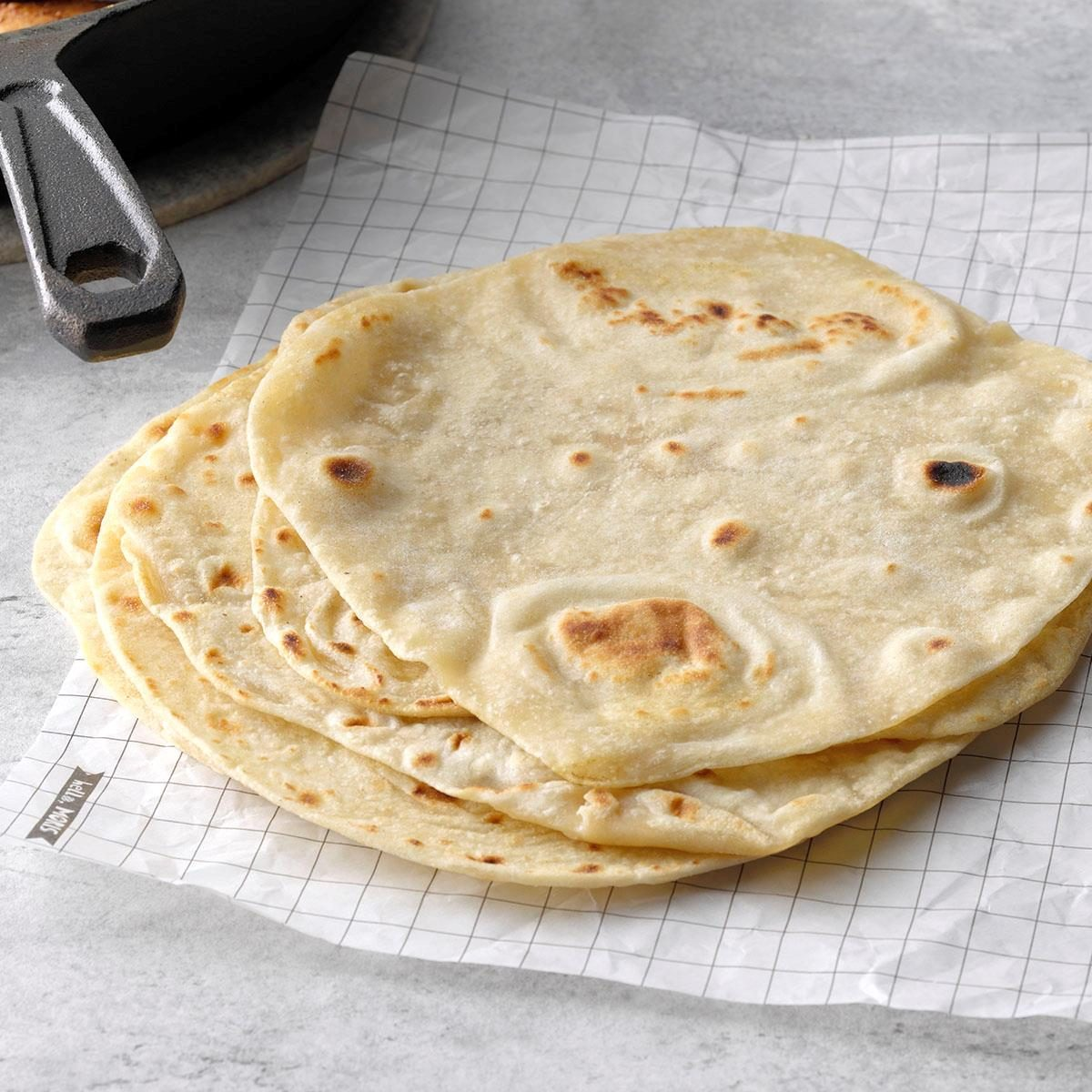 taste of home homemade tortillas