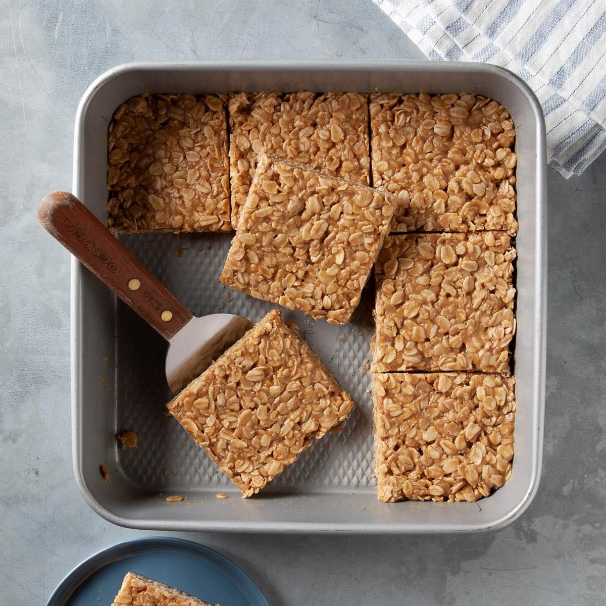taste of home no bake peanut butter oatmeal bars