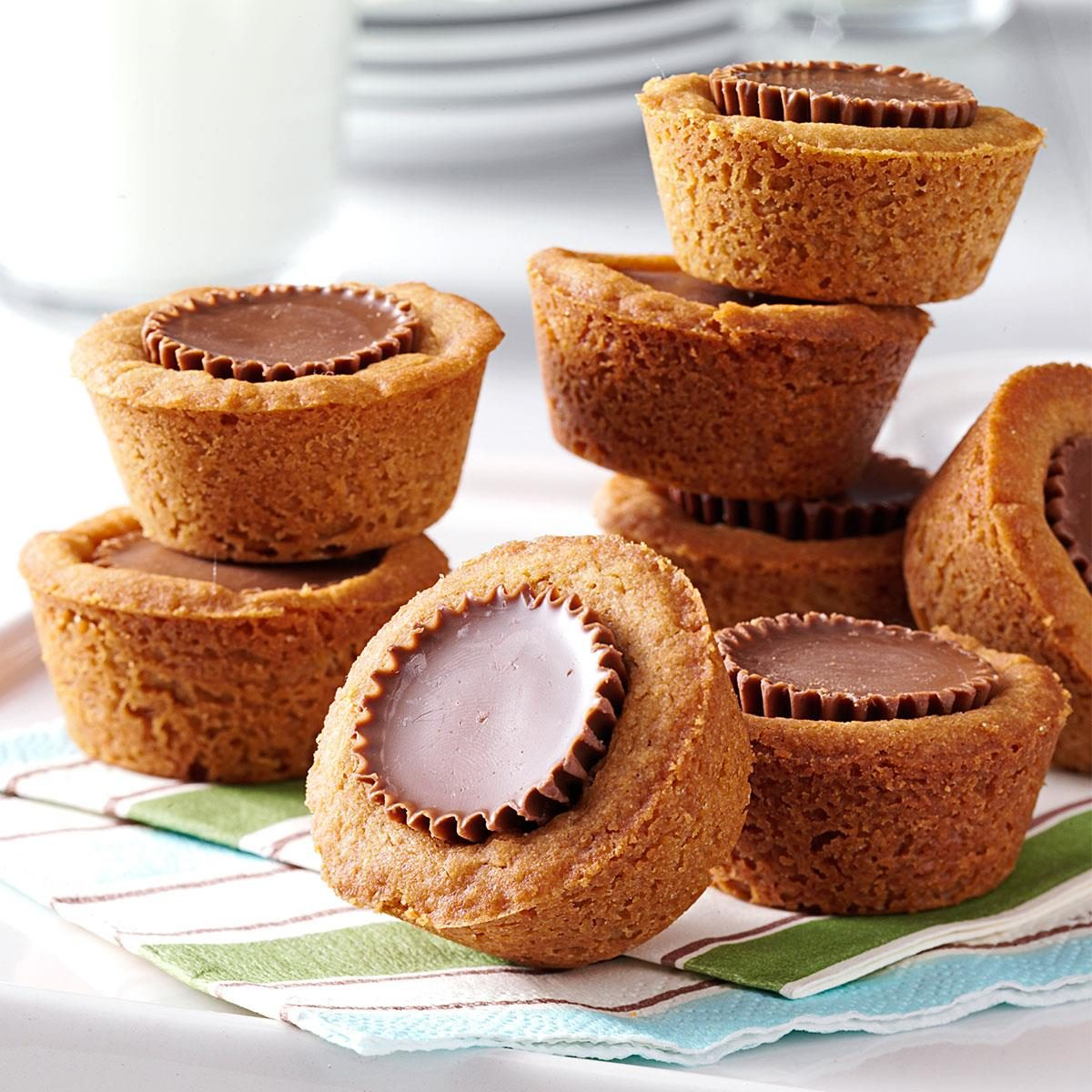 taste of home peanut butter cookie cups