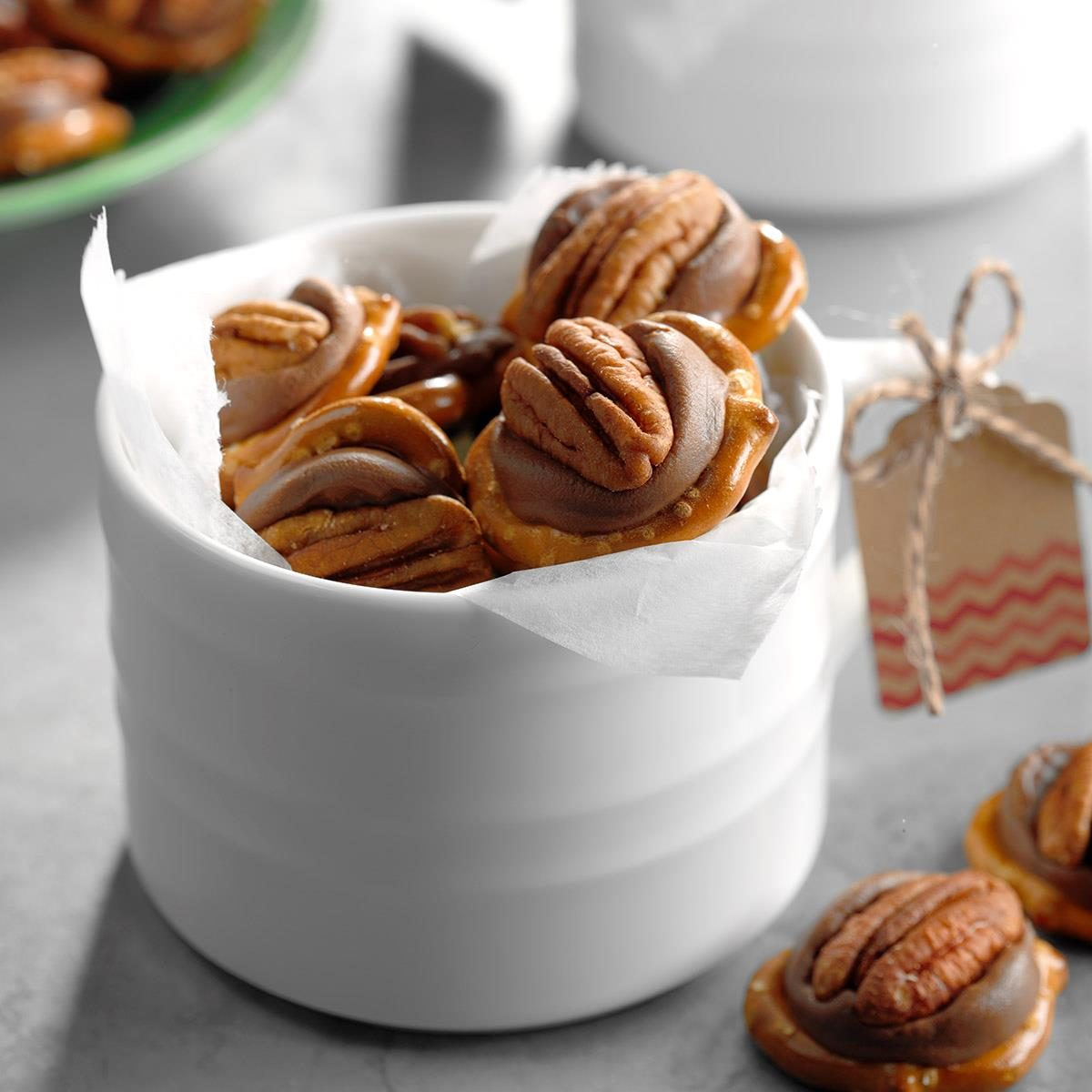 Pecan Caramel Candies
